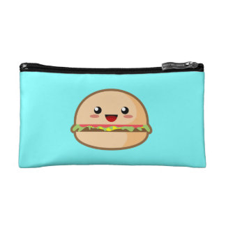Kawaii Hamburger Cosmetics Bags