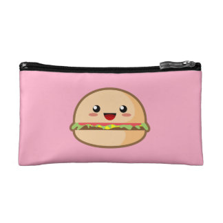 Kawaii Hamburger Cosmetics Bags