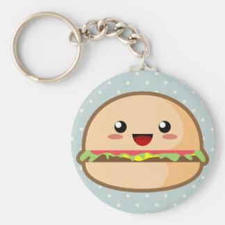 Kawaii Hamburger Key Chains