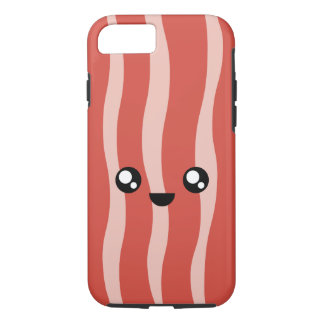 Kawaii Happy Bacon iPhone 7 & 8 Case