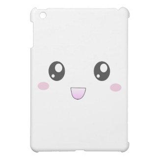 Kawaii happy face cover for the iPad mini