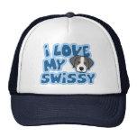 Kawaii I Love My Swissy Mesh Hat