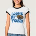 Kawaii I Love My Tosa T-Shirt