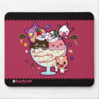 Kawaii Ice Cream Attacked! Mouse Mat