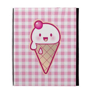 Kawaii Ice Cream iPad Folio Case