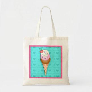 Kawaii  Ice Cream Cone Gift Bag