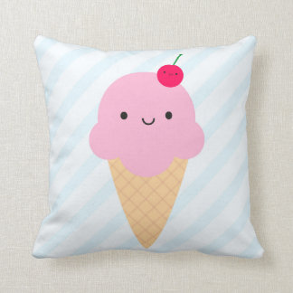 Kawaii Ice Cream Cone & Ice Lolly / Popsicle Cushion