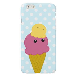 Kawaii Ice Cream Cone iPhone 6 Plus Case