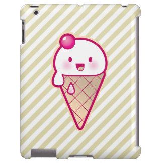 Kawaii Ice Cream iPad Case