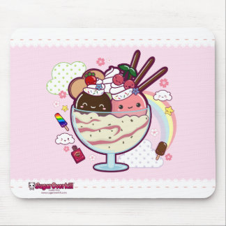 Kawaii Ice Cream Mouse Mat