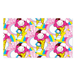 Kawaii Ice Cream Uber Cute Pack Of Standard Business Cards