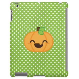 Kawaii Jack O Lantern Pumpkin iPad Case