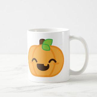 Kawaii Jack O Lantern Pumpkin Mug