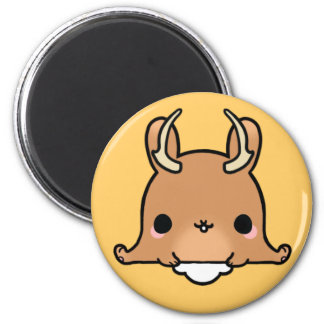 Kawaii Jackalope (You change the Background!) Magnet