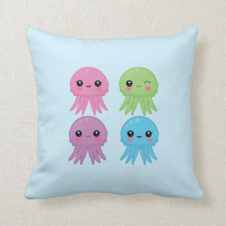 Kawaii Jellyfish Cushion