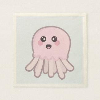Kawaii Jellyfish Disposable Napkin