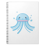 Kawaii jellyfish note book