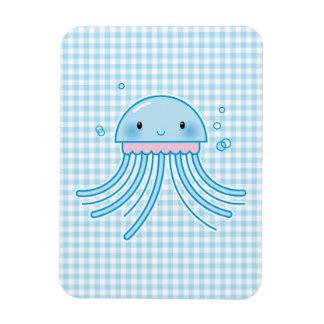Kawaii jellyfish flexible magnet