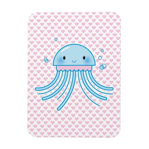 Kawaii jellyfish magnet