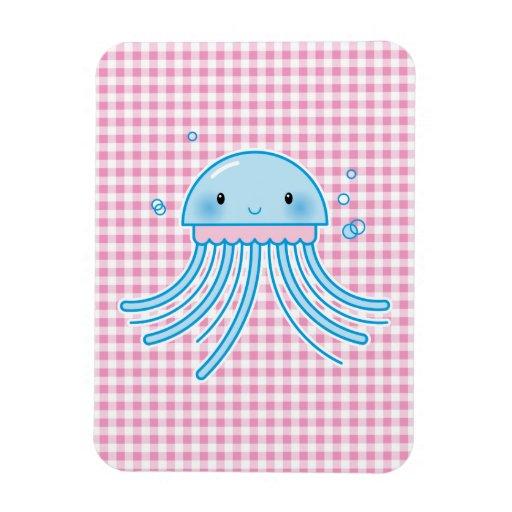 Kawaii jellyfish magnets