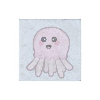 Kawaii Jellyfish Stone Magnet