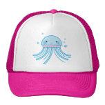 Kawaii jellyfish trucker hats
