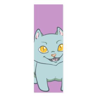 Kawaii Kitten Bookmark Pack Of Skinny Business Cards