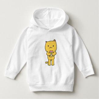 Kawaii Kitten Toddler Pullover Hoodie