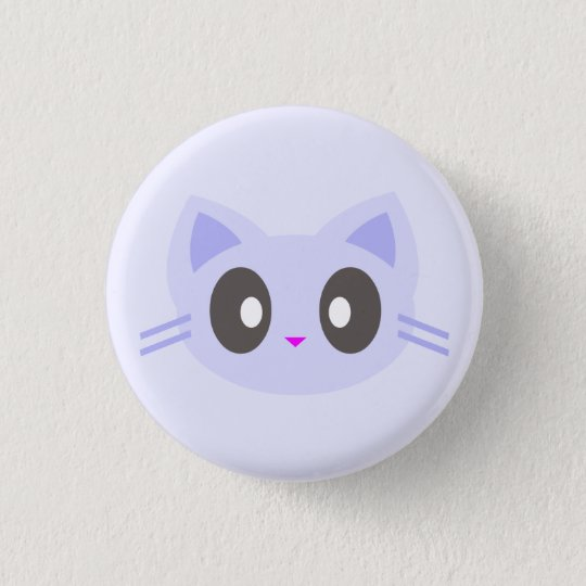 kawaii kitty 3 cm round badge