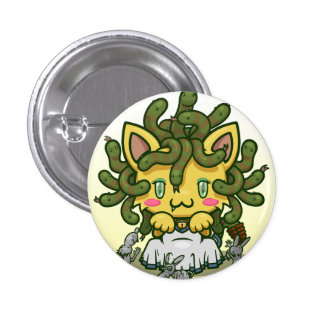 Kawaii Kitty (Medusa) Pins