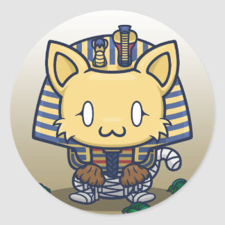 Kawaii Kitty (Mummy) Sticker