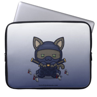 Kawaii Kitty (Shinobi) Laptop Sleeve