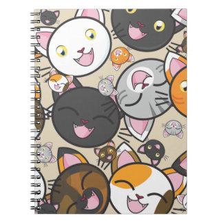 Kawaii Kity - Notebook