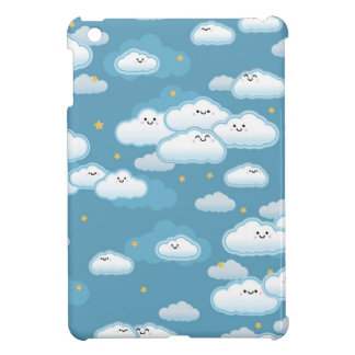 kawaii klouds iPad mini cover