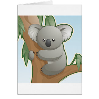 Kawaii Koala Card