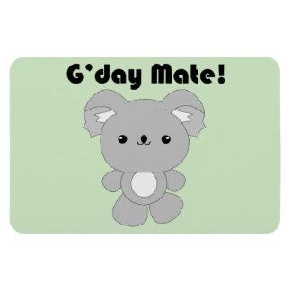 Kawaii Koala flexi manget Rectangle Magnets