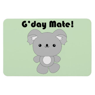 Kawaii Koala flexi manget Rectangular Photo Magnet