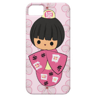 Kawaii Kokeshi Doll iPhone Case