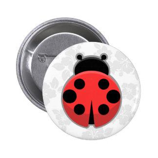 Kawaii Ladybug 6 Cm Round Badge