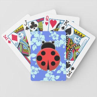 Kawaii Ladybug Bicycle Playing Cards