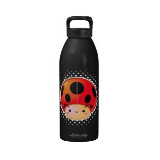 Kawaii Ladybug Mushroom Bottle Drinking Bottles