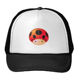 Kawaii Ladybug Mushroom Hat