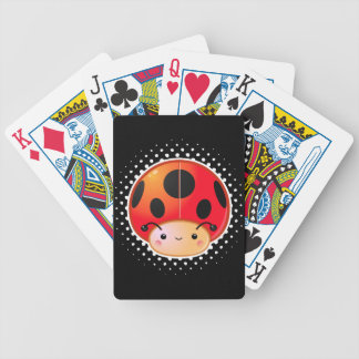 Kawaii Ladybug Mushroom Bicycle Card Decks
