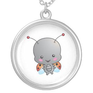 Kawaii Ladybug Necklace