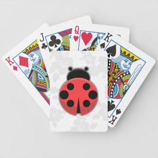 Kawaii Ladybug Poker Deck