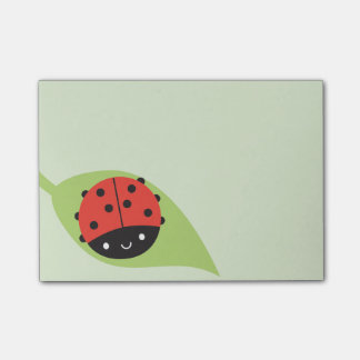 Kawaii Ladybug Post-it Notes