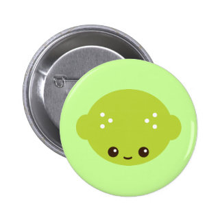 Kawaii Lime 6 Cm Round Badge