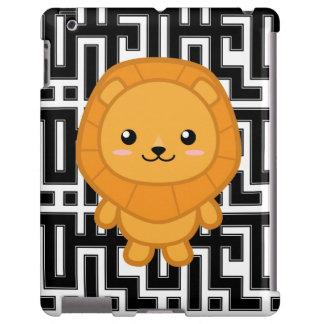 Kawaii Lion iPad Case
