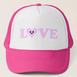KAWAII LOVE HEART VALENTINE'S DAY TRUCKER HAT