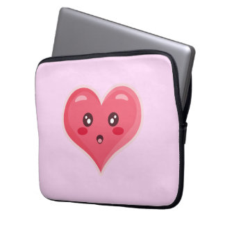 Kawaii Love Laptop Sleeve